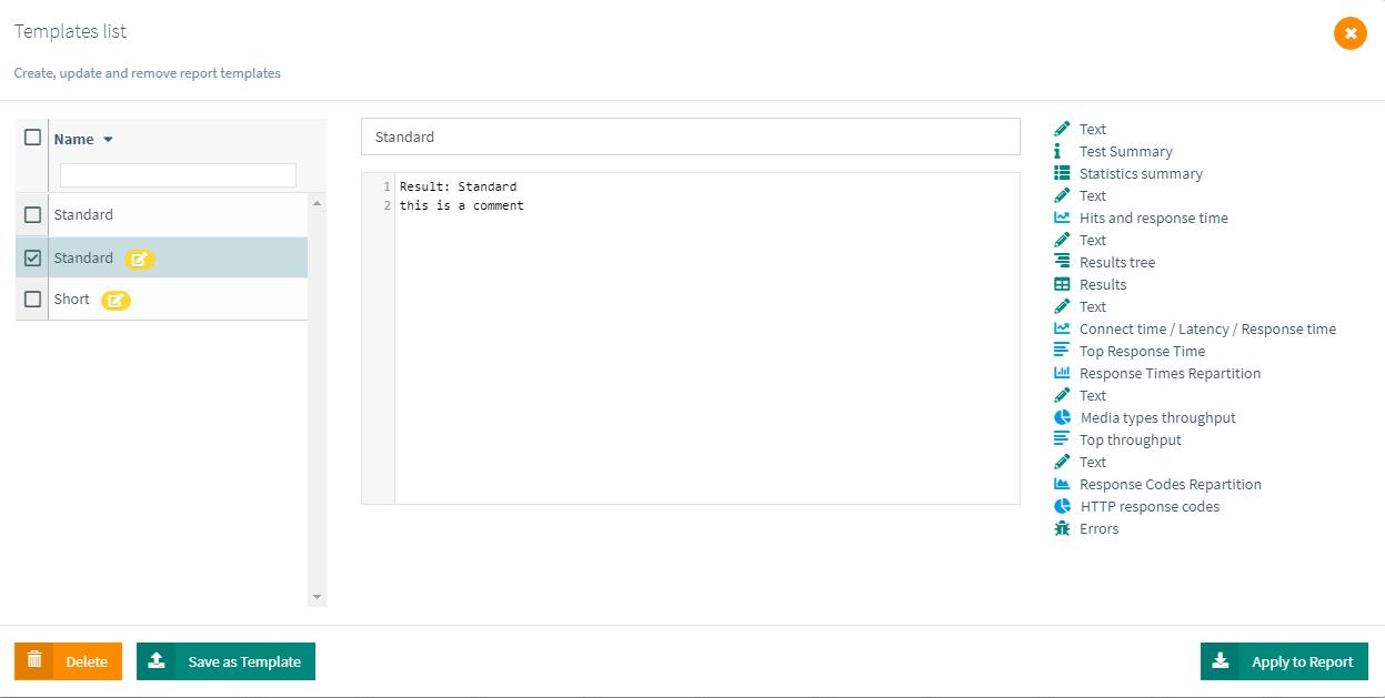 report-templates
