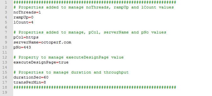 Custom Properties File