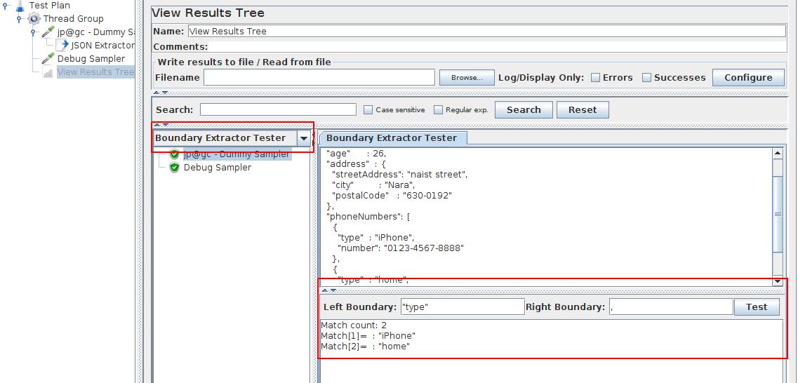 JMeter Boundary Tester