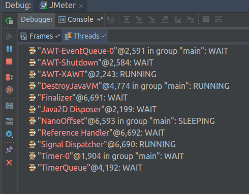 JMeter Remote Debug