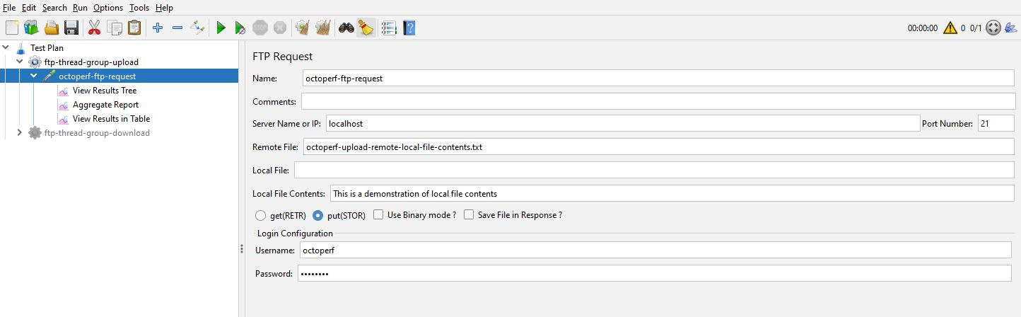 Local File Contents Option