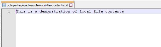 Remote File Contents