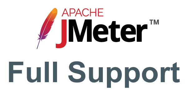 Full JMeter Support