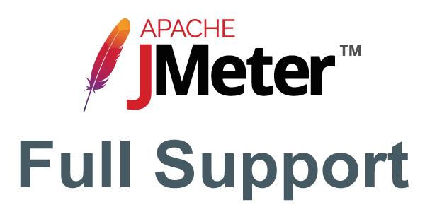 Full JMeter Support