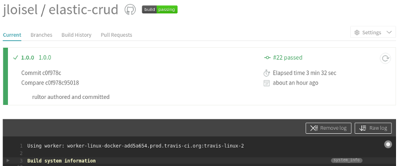 TravisCI Build