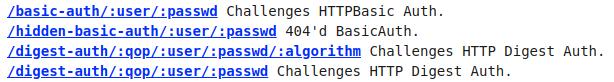 HTTPBin Endpoints