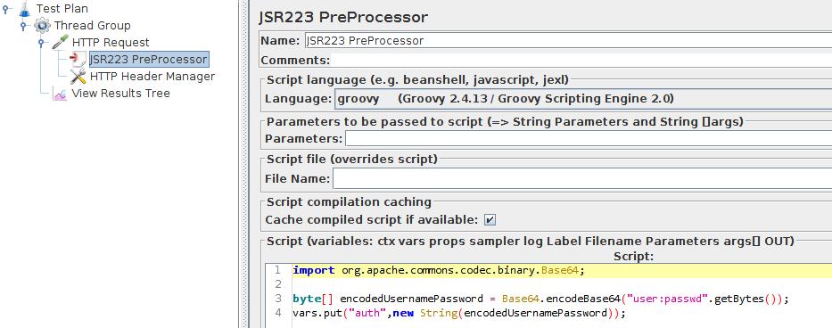 JSR223 PreProcessor