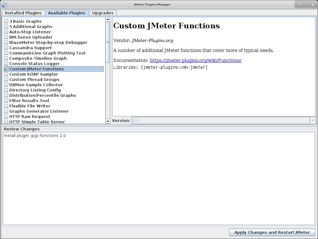 JMeter Functions Plugin