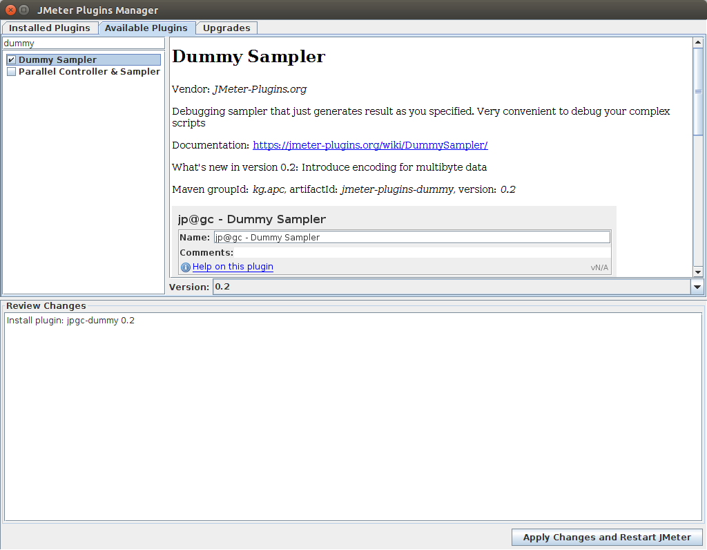 Dummy Sampler Plugin Installation