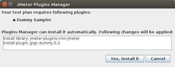 Dummy Sampler Plugin Auto Install