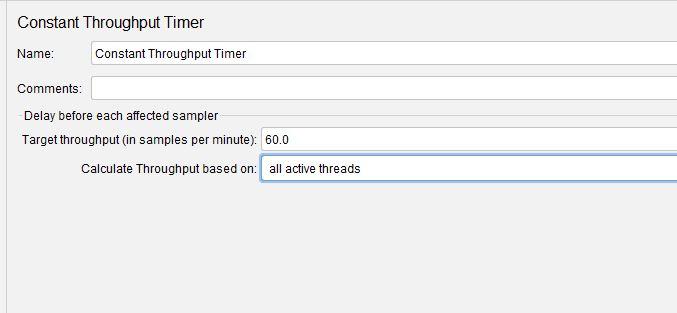 Constant Throughput Timer Revised Throughput