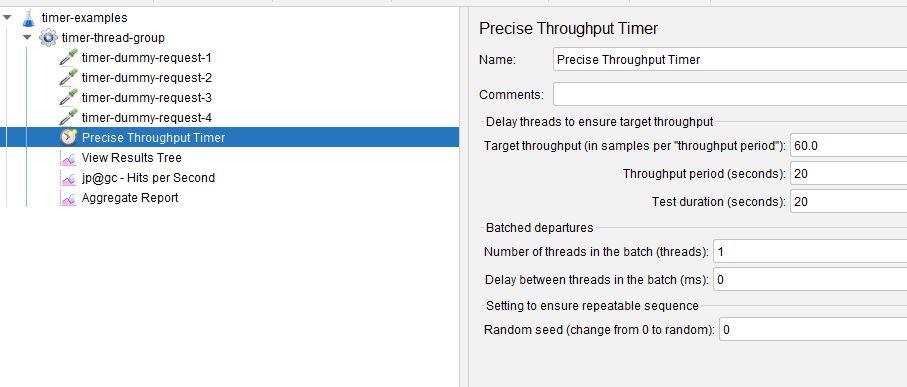 Precise Throughput Timer Revised Throughput