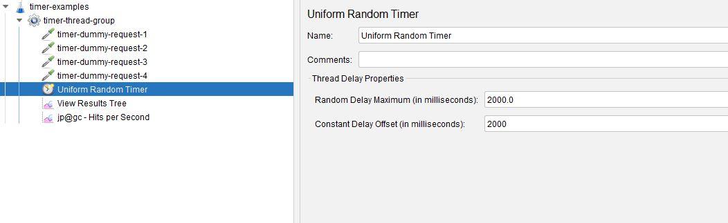 Uniform Random Timer