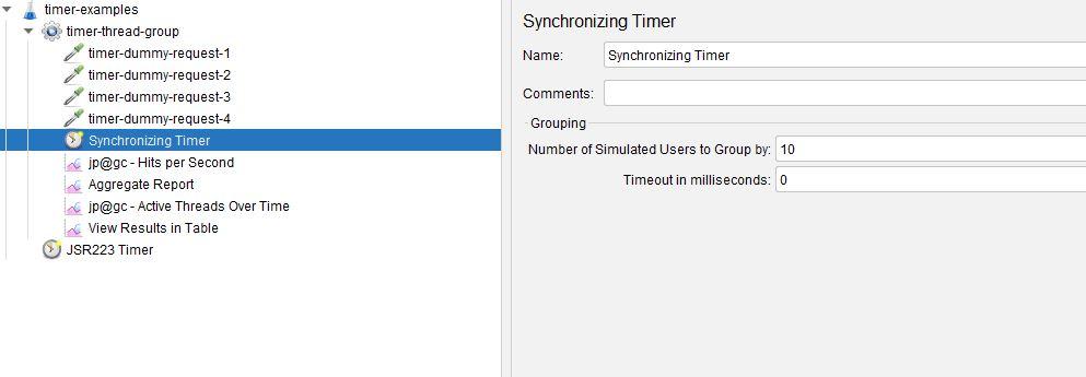Synchronizing Timer