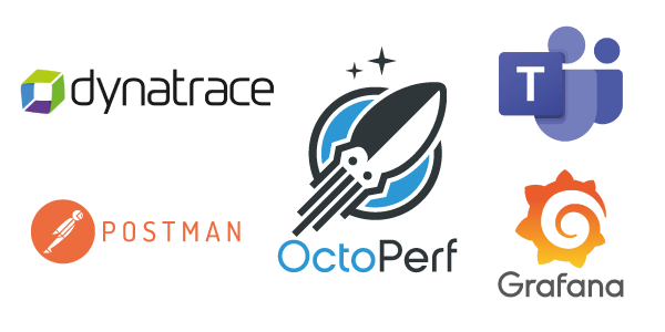 OctoPerf v12.4 - Integrate with Postman, Microsoft Teams, Grafana and Dynatrace