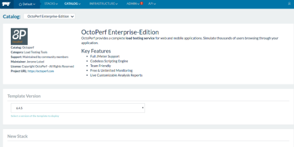 OctoPerf Enterprise Edition