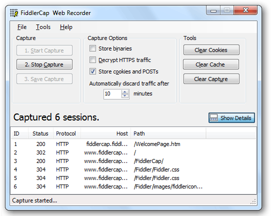 Recording HTTP Traffic With Fiddler - Load Testing - OctoPerf