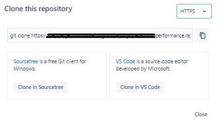 Clone repository command